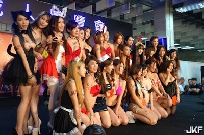 台湾成人展2016(アダルトエキスポ) ショーガール人気投票結果発表 7