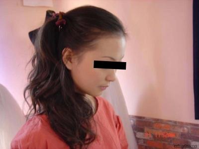 中国の美人若妻 流出ヌード画像 2