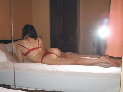 美女をホテルでハメ撮りした画像 12