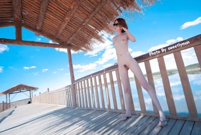 中国スレンダー微乳美女ヌード画像 1