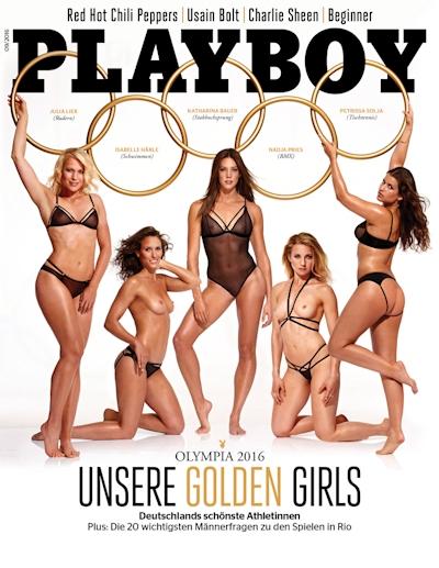リオ・オリンピック2016 ドイツ美人アスリート5人 Playboyヌード画像 1