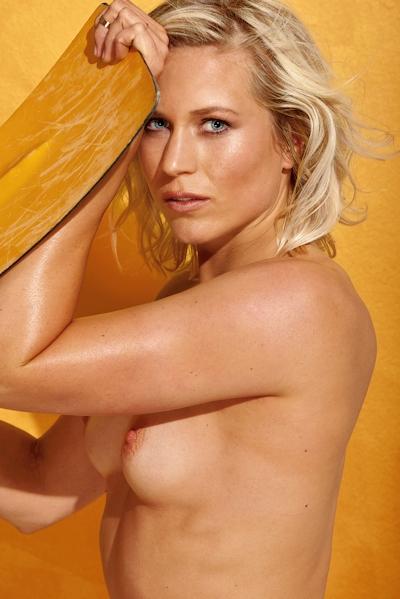 リオ・オリンピック2016 ドイツ美人アスリート5人 Playboyヌード画像 24