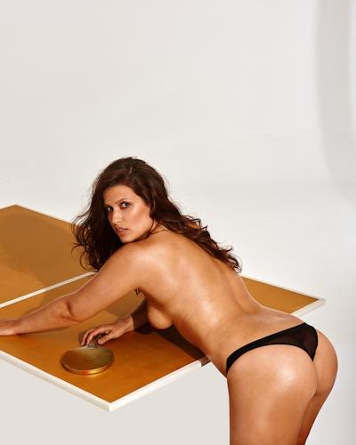 リオ・オリンピック2016 ドイツ美人アスリート5人 Playboyヌード画像 27