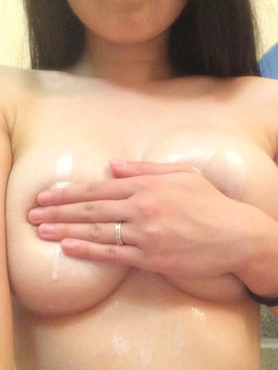 Gカップ巨乳な女子大生の自分撮りヌード画像 10