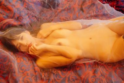 中国美女モデル 艾栗栗(Ailili) セクシーヌード画像 7