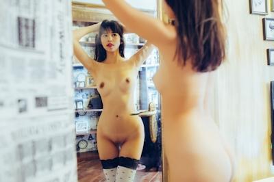 中国美女モデル 艾栗栗(Ailili) セクシーヌード画像 26