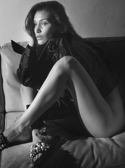 Bella Hadid(ベラ・ハディッド) Vogue Paris (September 2016) ヌードグラビア 1