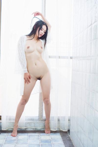 中国美女モデル 樱桃(Yingtao) セクシーヌード画像 9