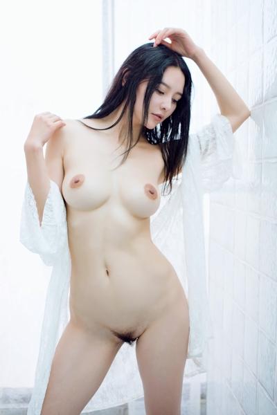 中国美女モデル 樱桃(Yingtao) セクシーヌード画像 11