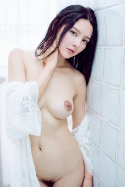 中国美女モデル 樱桃(Yingtao) セクシーヌード画像 12
