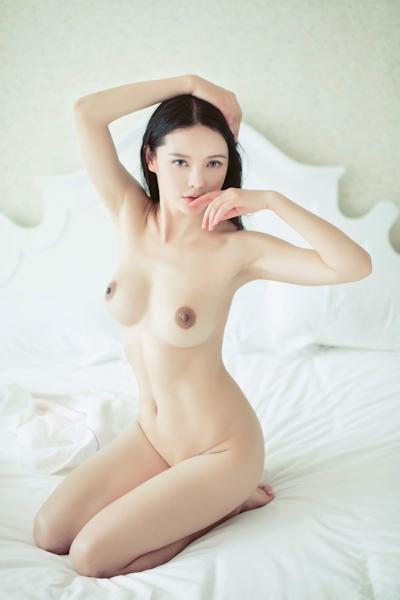 中国美女モデル 樱桃(Yingtao) セクシーヌード画像 16