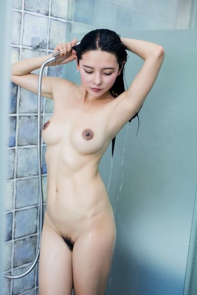 中国美女モデル 樱桃(Yingtao) セクシーヌード画像 17