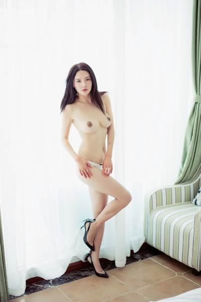 中国美女モデル 樱桃(Yingtao) セクシーヌード画像 18