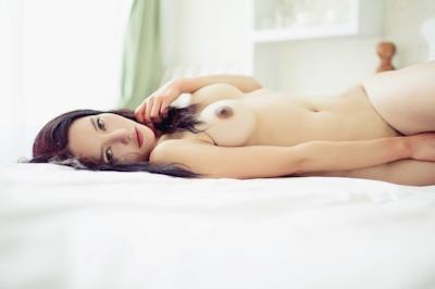 中国美女モデル 樱桃(Yingtao) セクシーヌード画像 21