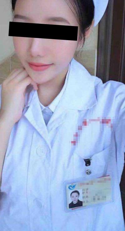 中国の美人ナースのハメ撮り動画が流出 1