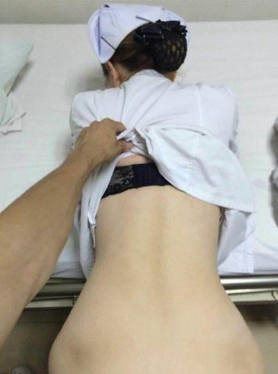 中国の美人ナースのハメ撮り動画が流出 5