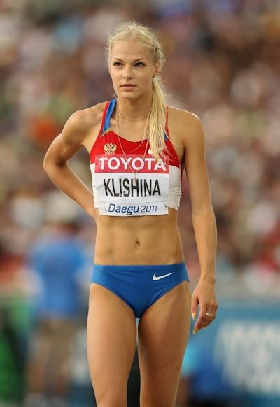 ロシア Darya Klishina(ダリヤ・クリシナ) 陸上・走幅跳