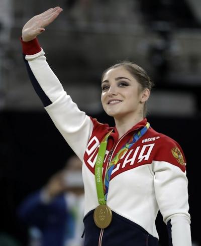 ロシア Aliya Mustafina(アリーヤ・ムスタフィナ) 体操