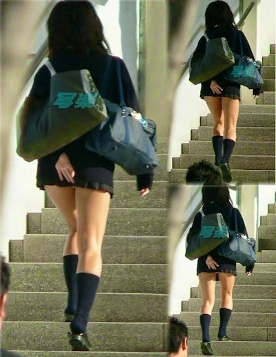 日本のJKのミニスカート画像 3