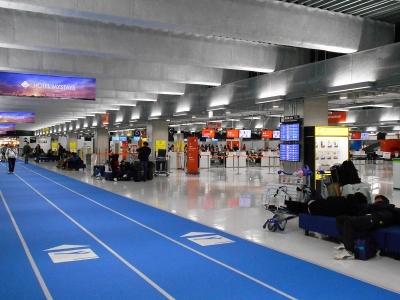 台北桃園空港へ
