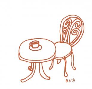 ベランダ椅子