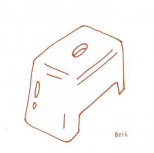 無印良品風呂椅子1