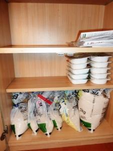 キッチンカウンター型収納断捨離3