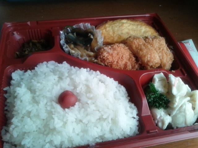 三月一日昼食