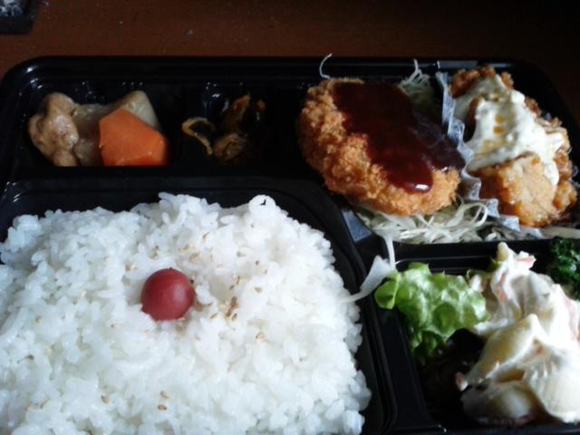 三月七日昼食