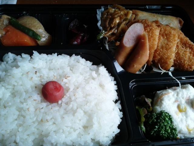 三月十日昼食