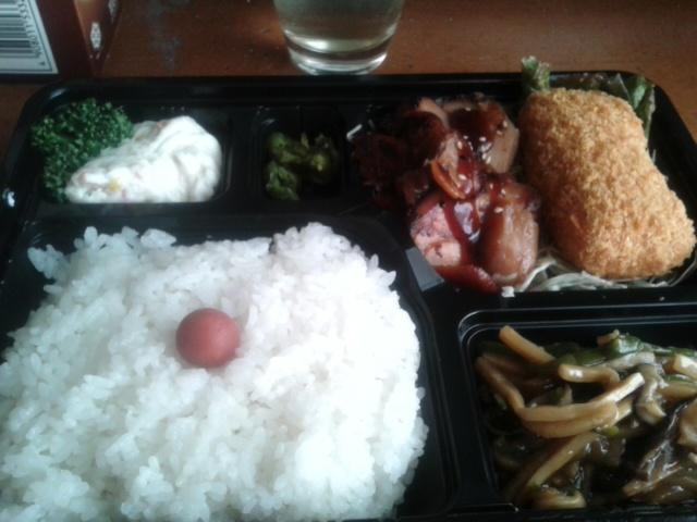 三月二十一日昼食