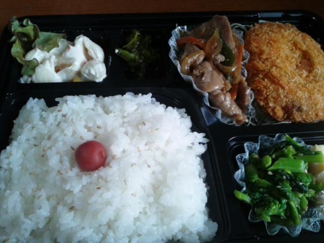 四月一日昼食