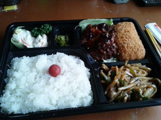 五月三日昨日の昼食