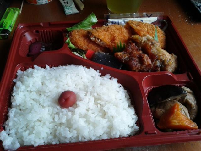 八月二十四日昼食