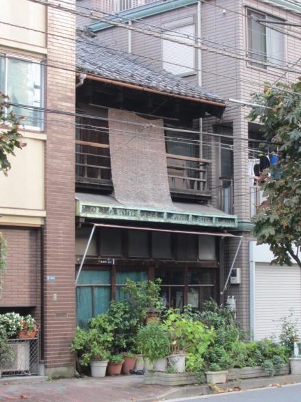 浅草橋3丁目 和瓦銅板葺出し桁①