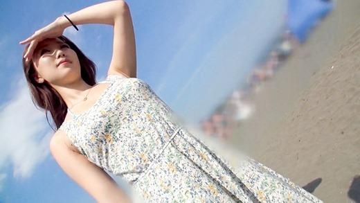 海ナンパで美人OLとハメ撮り 08