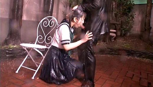 着衣で濡れる女 197