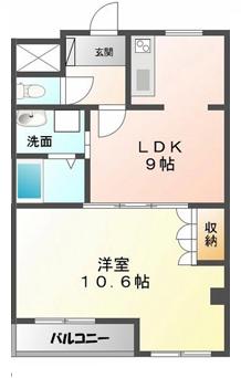 ■物件番号4272 茅ヶ崎駅13分!ペット可!築浅1LDKマンション!最上階3階!7.4万円!