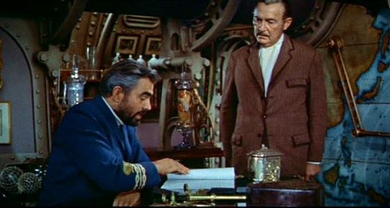 ネモ船長とアロナクス教授