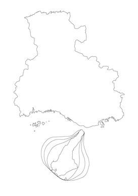 淡路島たまねぎ生産販売農家-ちどり農園-たまねぎ地図イラスト