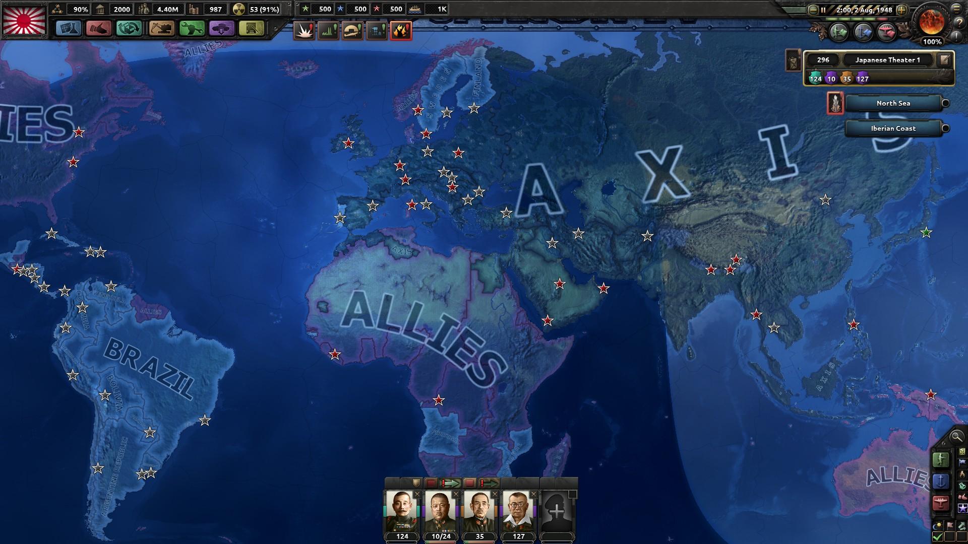HoI4欧州戦線終結
