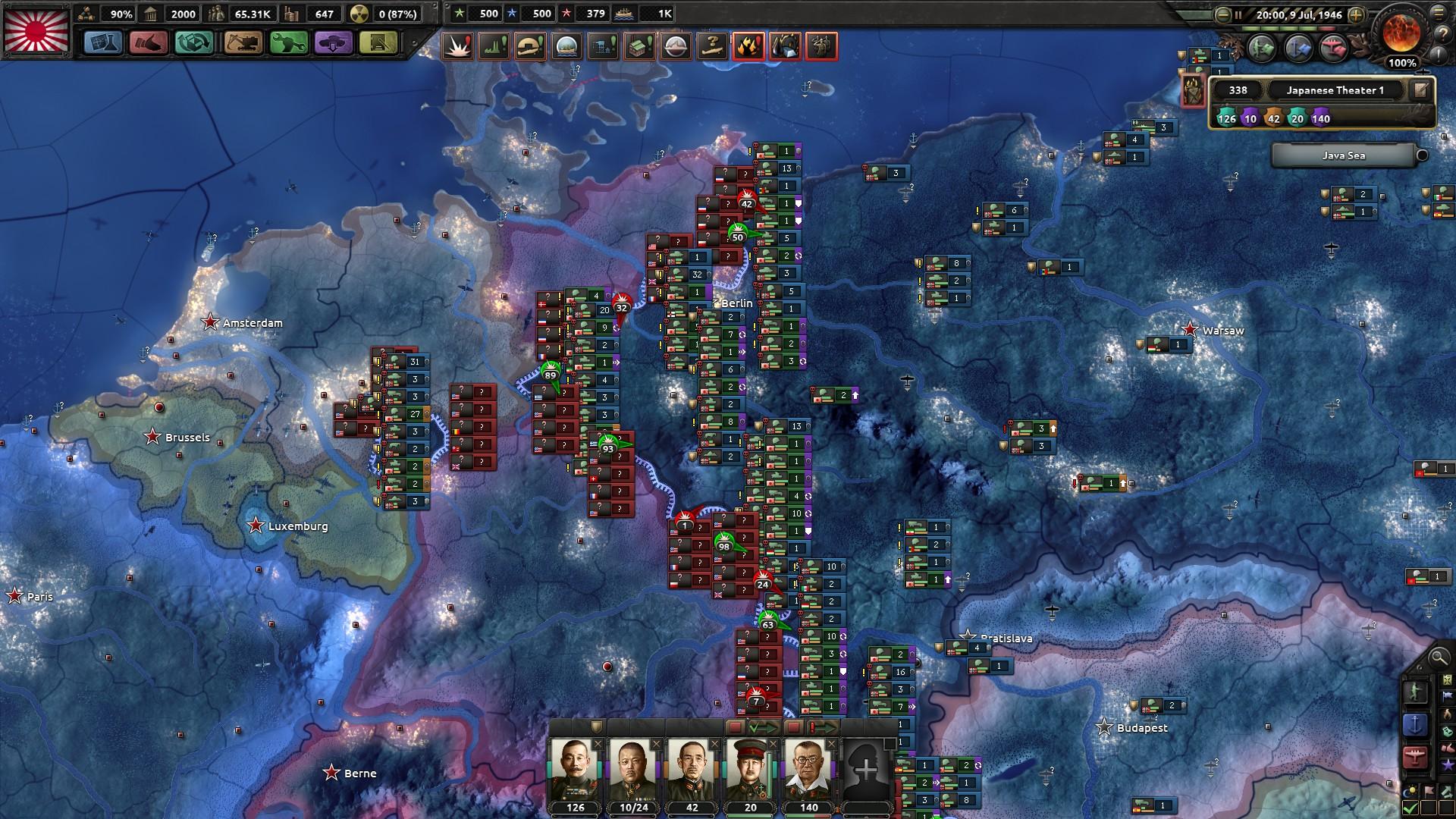 HoI4第一軍全滅の憂き目