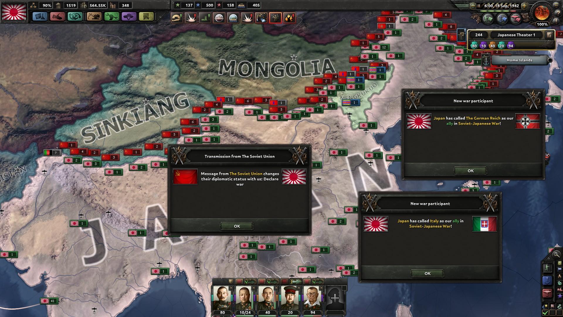 HoI4対ソ開戦