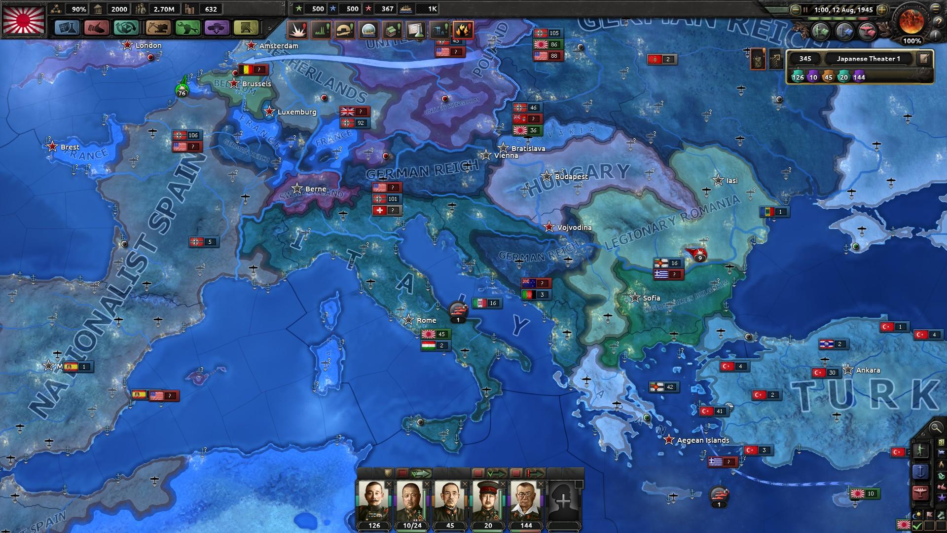 HoI4イタリア解放