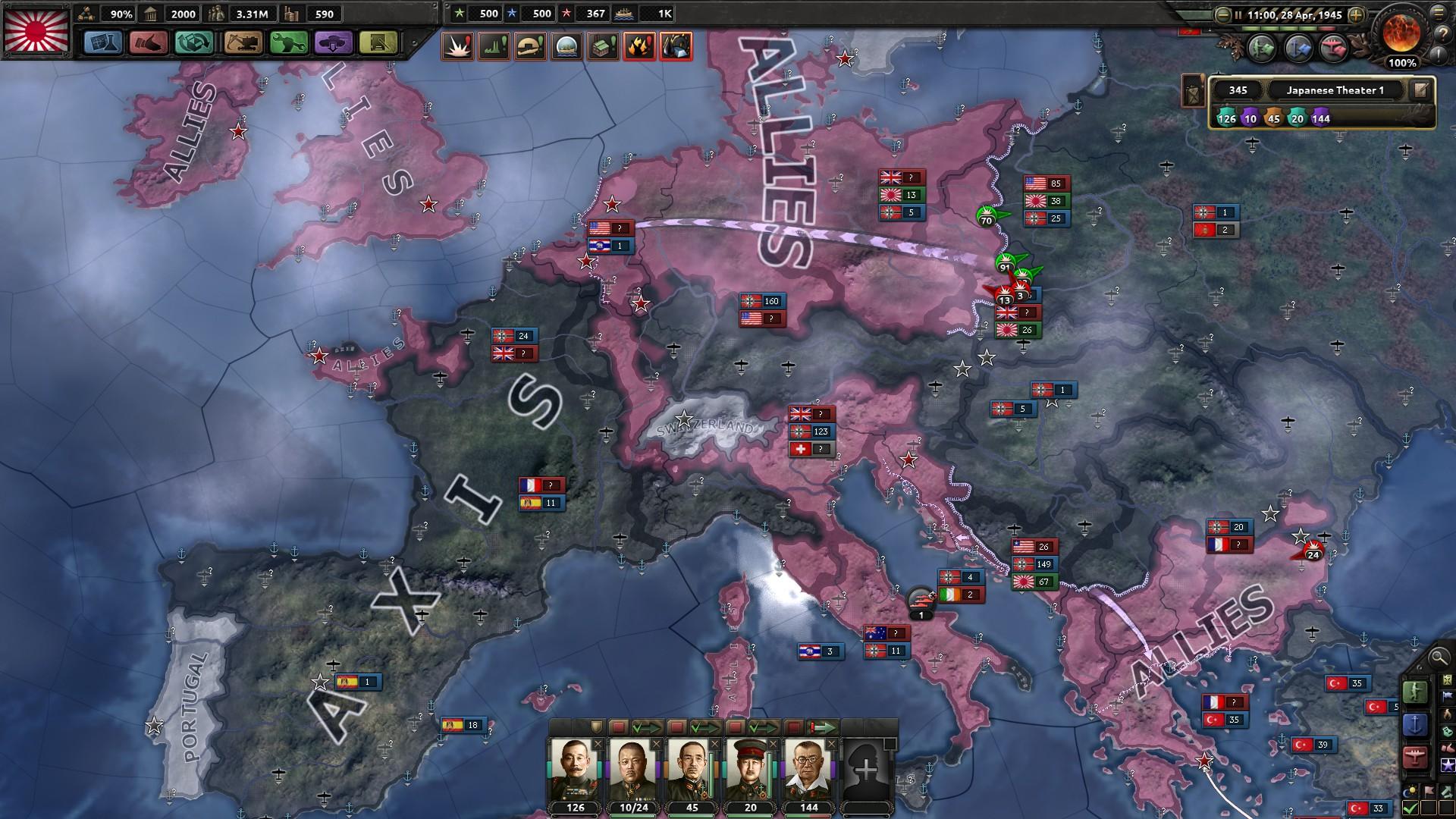 HoI4対連合国マップ2