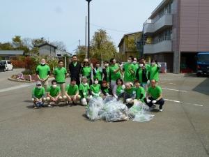 清掃ボランティア