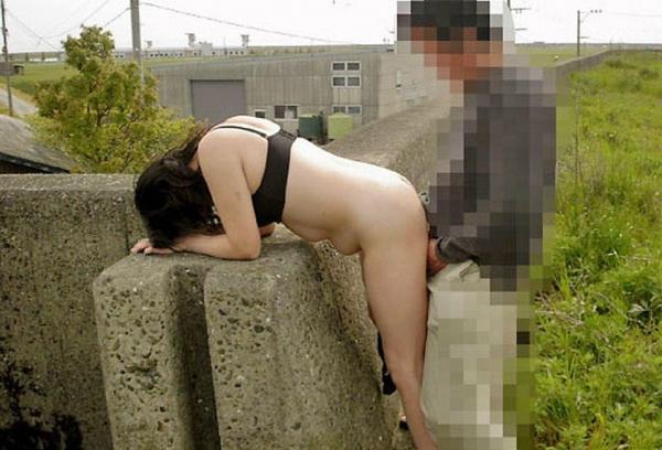野外セックス画像 5