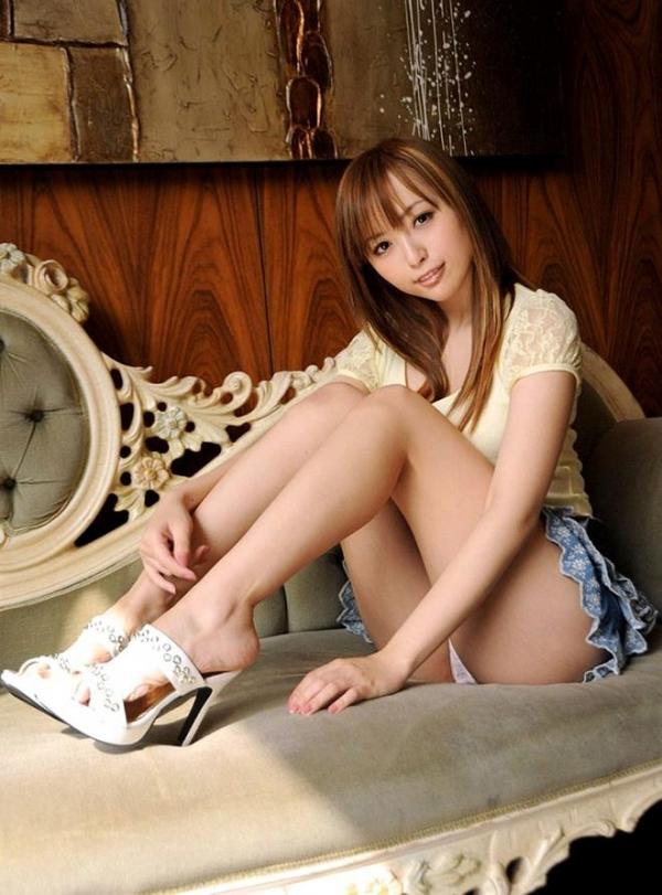 生足で魅せるハイヒール画像 39