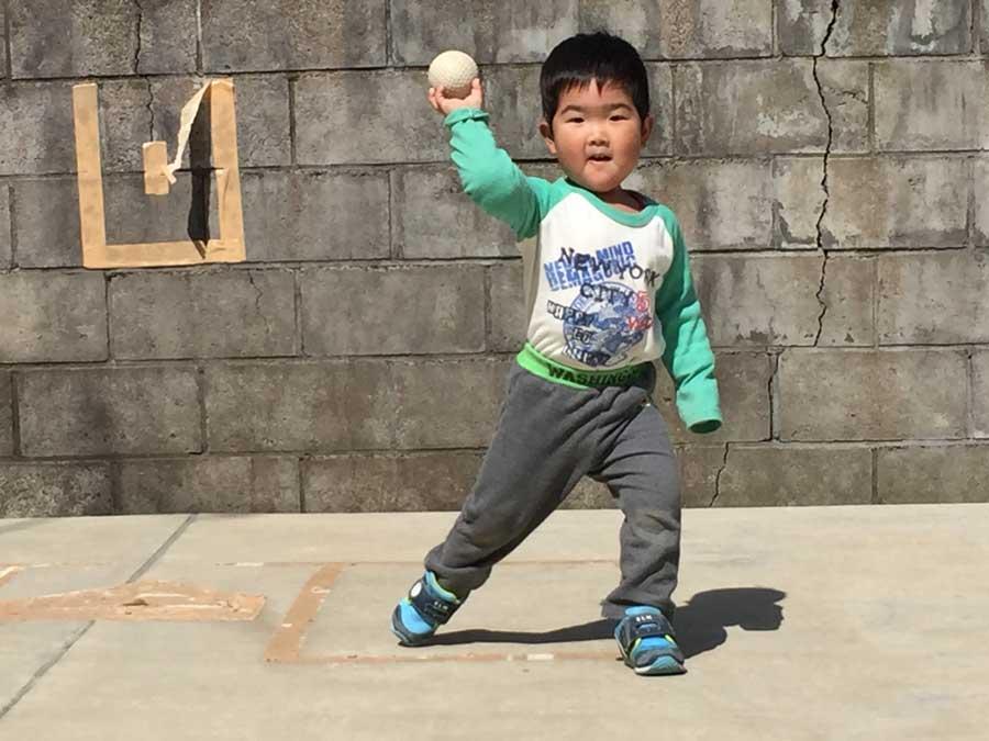 2歳児野球01