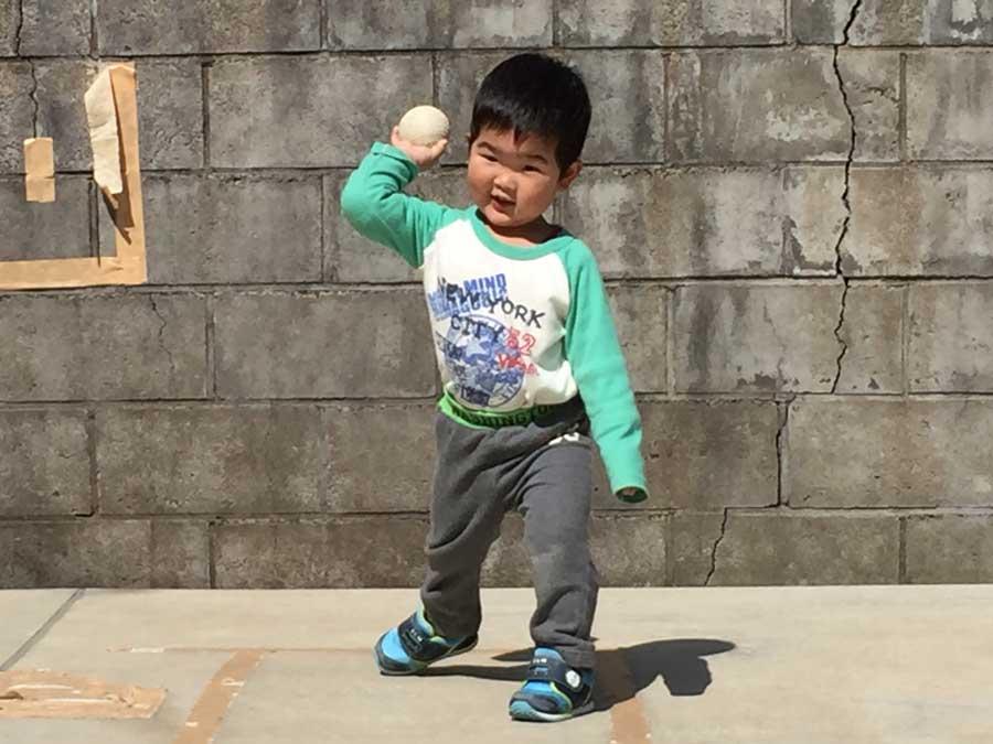 2歳児野球02